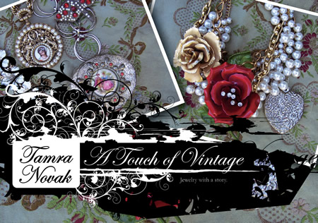 Touch of Vintage Postcard