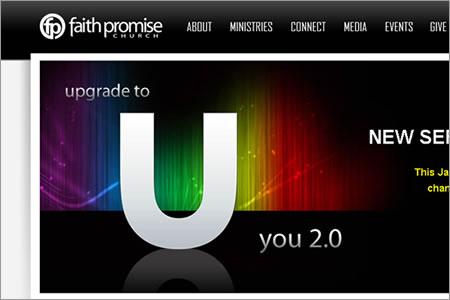 New Faith Promise Website