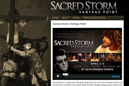 Sacred Storm Website