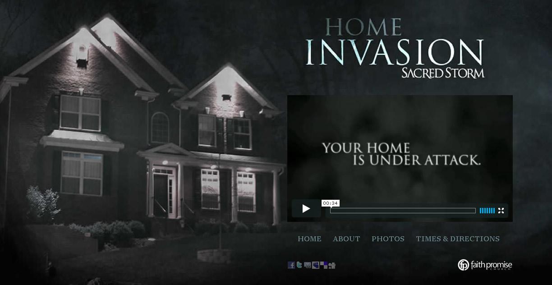 Home Invasion, Sacred Storm