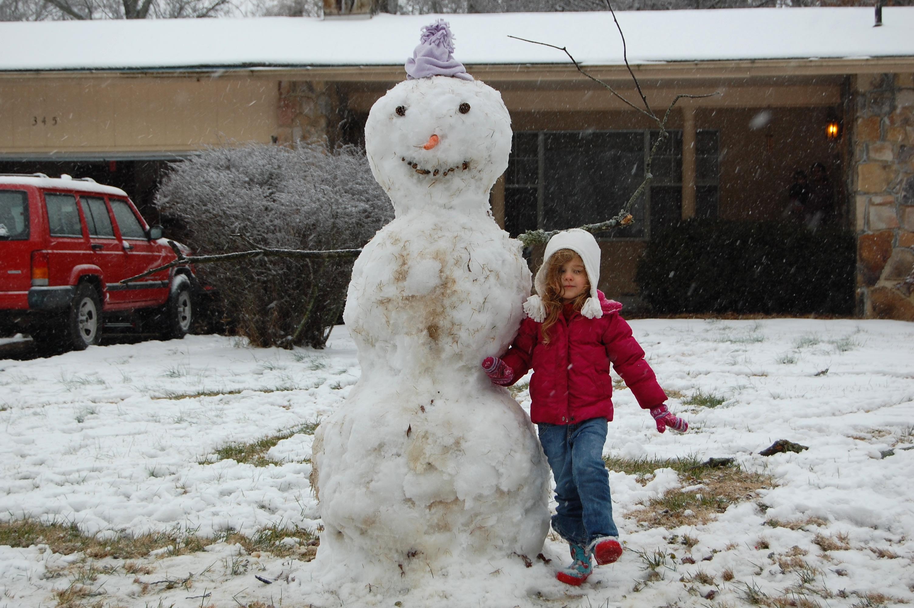 Real-Deal Snowman