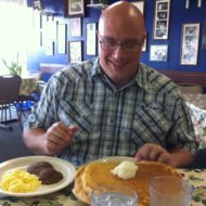 Kyle McClain Eating Huge Pancakes