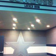 Cowboys' Locker Room