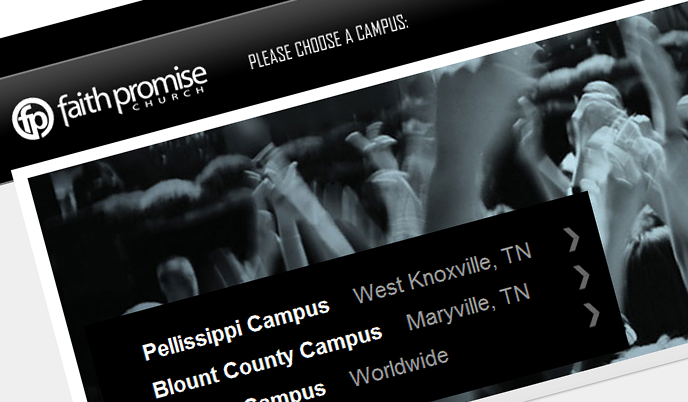 Major Updates to the Faith Promise Website