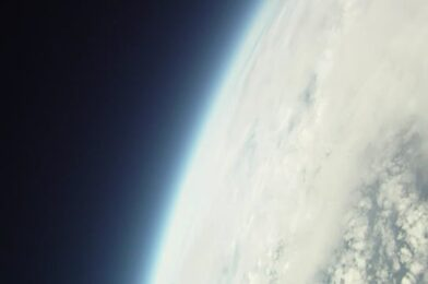 iPhone in Space