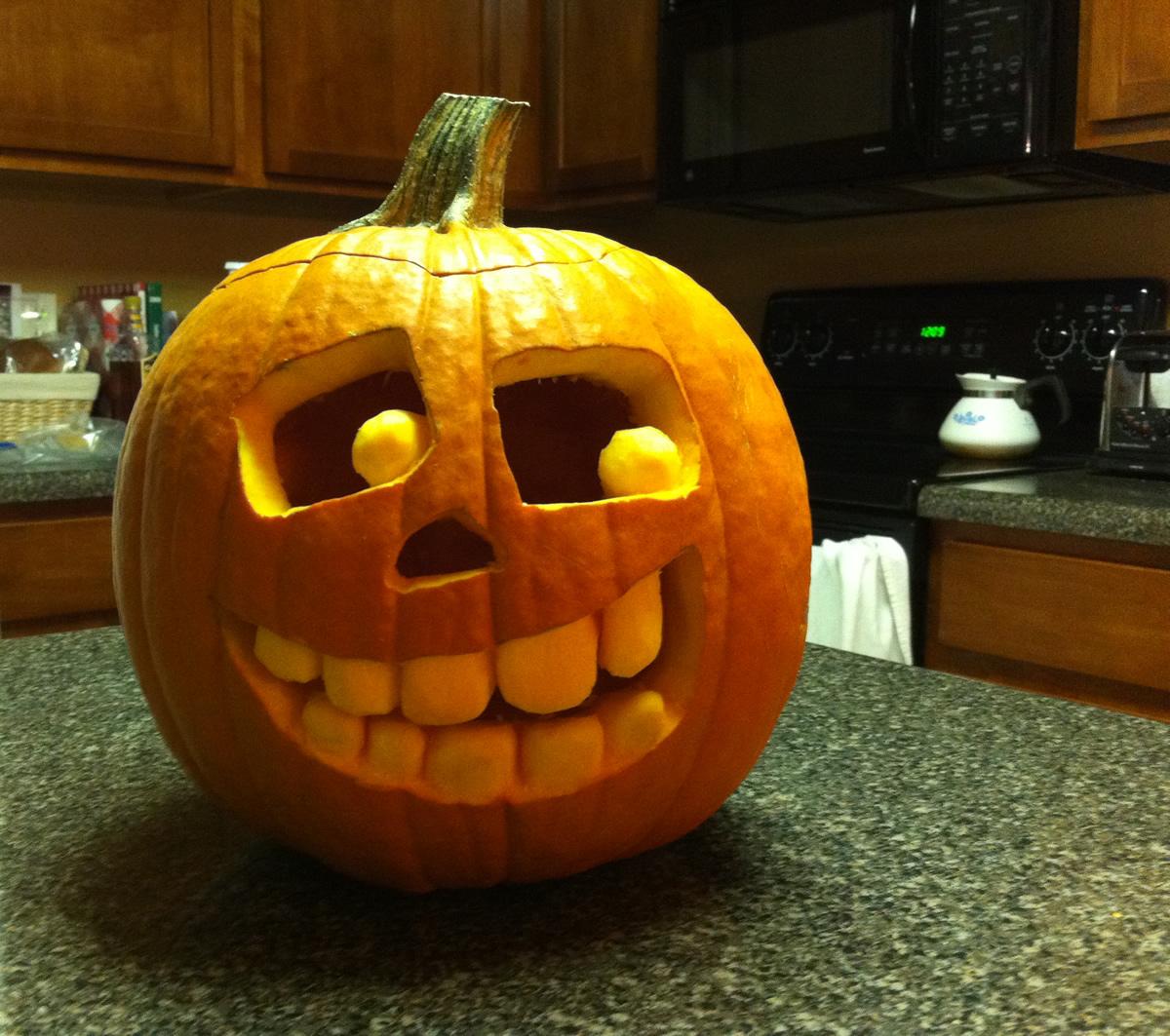 Pumpkin carving kyle gilbert