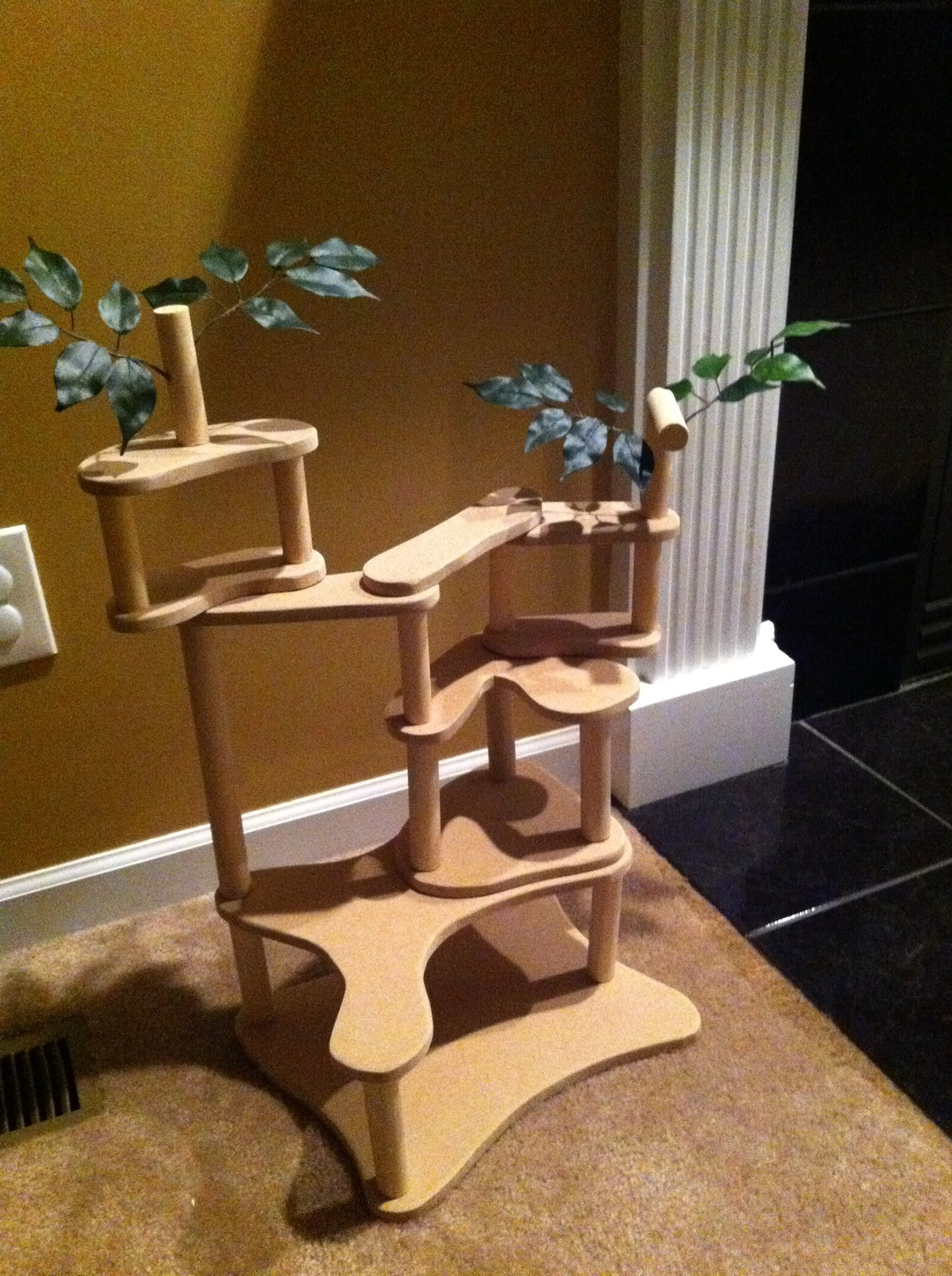 DIY Toy Treehouse Project