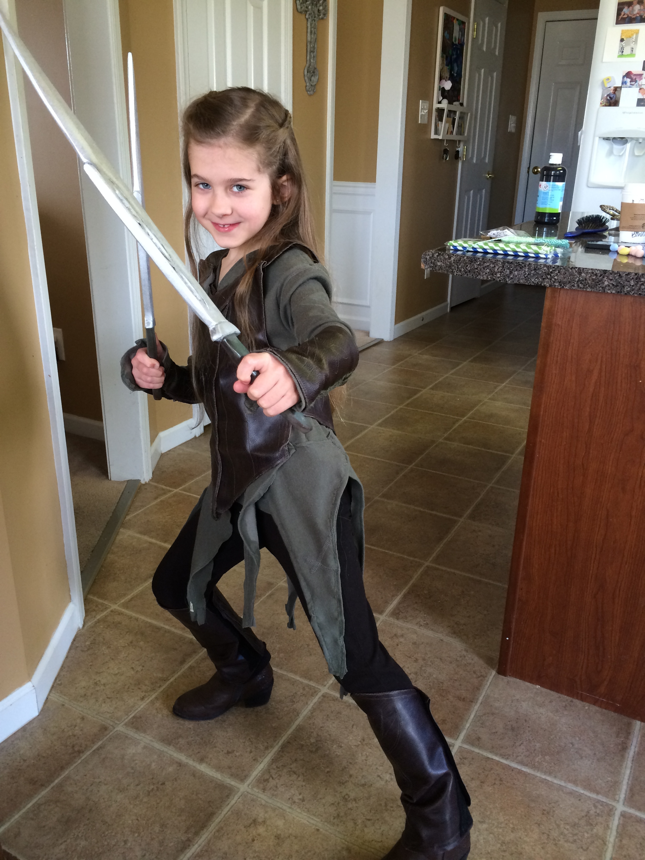 Tauriel – Fighting Elf Lady Costume Instructions