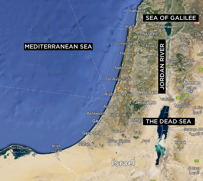 My Visit to Israel (Part 1)