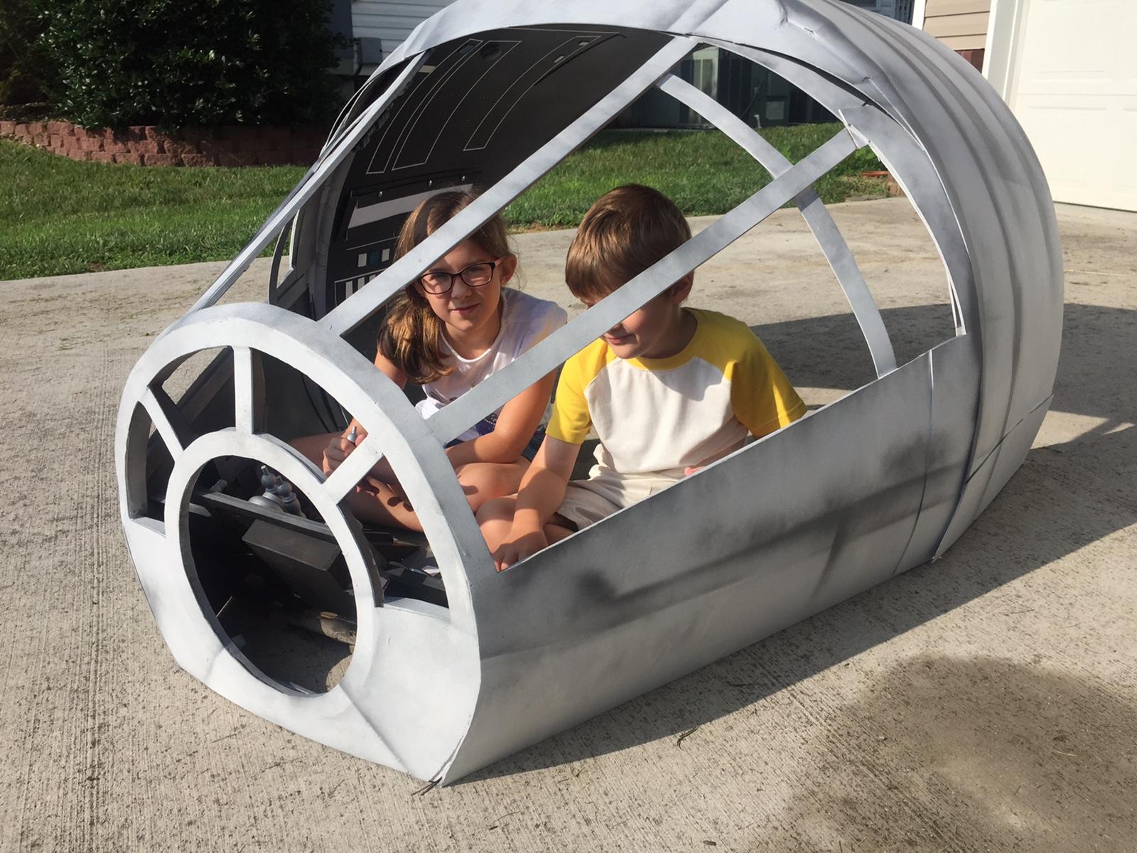 Millennium Falcon – for the Kids